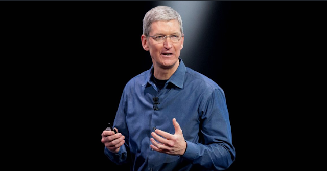تيم كوك الرئيس التنفيذي لشركة أبل يجيب عن سؤال المجلة الألمانية Stern بخصوص غلاء سعر هواتف أيفون.