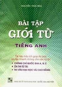 Bài Tập Giới Từ Tiếng Anh - Nguyễn Thái Hòa