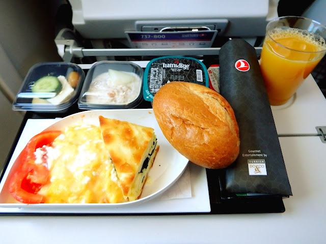 turkish airlines comida