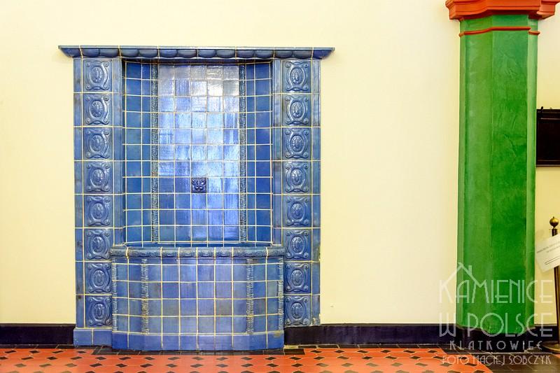 Elbląg: niebieska studzienka