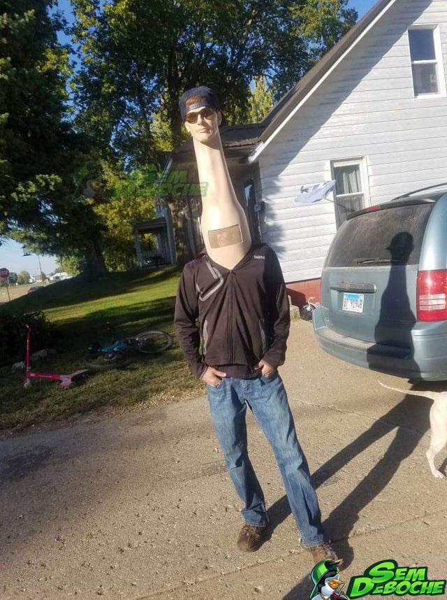 Homem Girafa