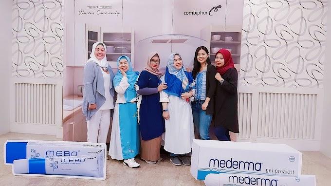 Mebo Mederma Women Community Bandung : Bebas Beraktivitas di Dapur bersama Mebo Mederma