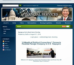 August 1, 2014: Spotted @ The House Financial Services Committee site