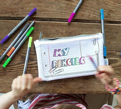Doodle Pencil Case