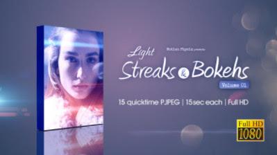 Futazhi – VideoHive – Light Streaks and Bokehs Vol 1 – 15791749 [MOV]