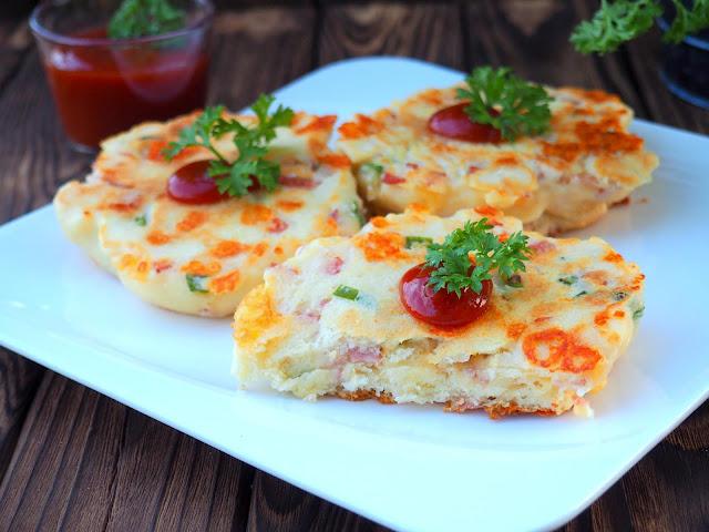 Pizzowe placuszki drożdżowe
