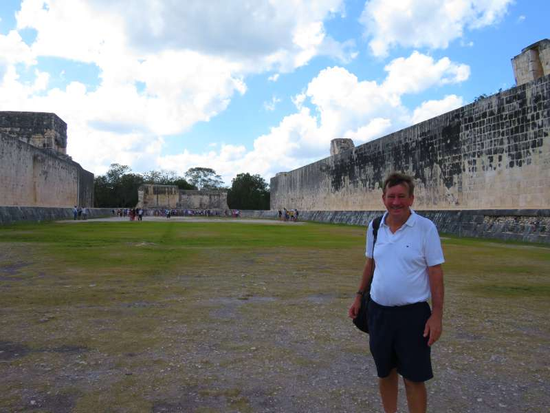 The Great Ball Court Chichen Itza