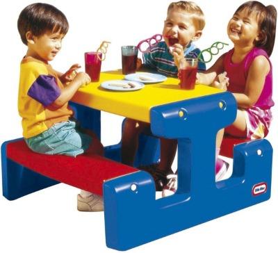 Picknicktafel kinderen Little Tikes