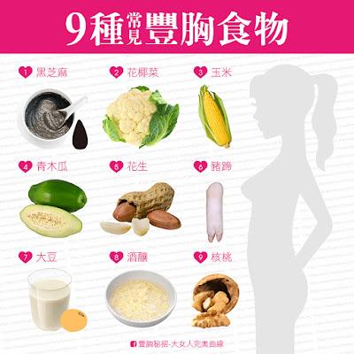 豐胸食材簡易實用
