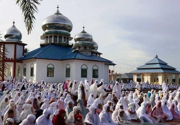 Hari Ini, Pengikut Tariqat Syatriyah Aceh Rayakan Idulfitri