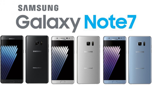 Samsung Note 7 enters the dual sim card phone Competition Now!