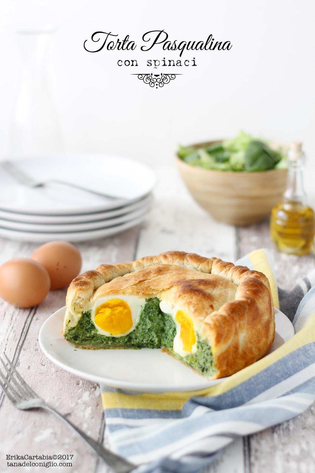 Torta Pasqualina Con Spinaci La Tana Del Coniglio
