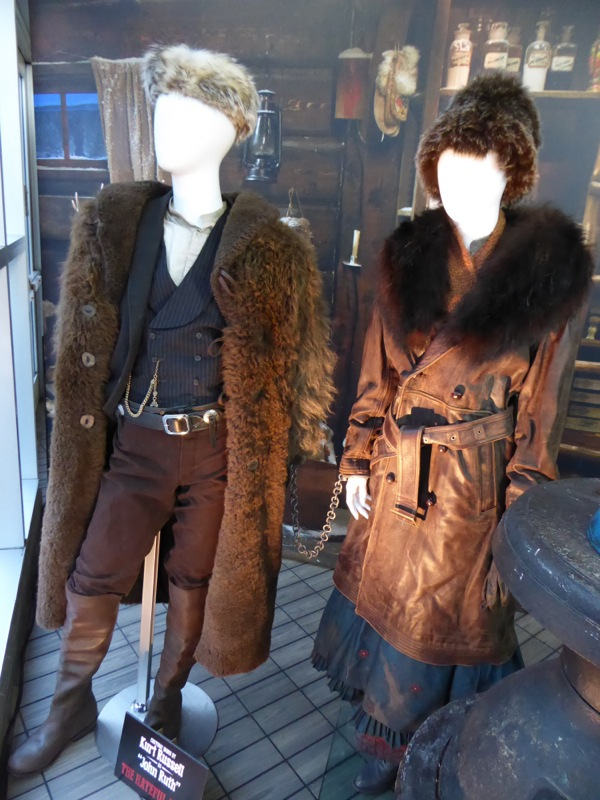 John Ruth and Daisy Domergue Hateful Eight costumes