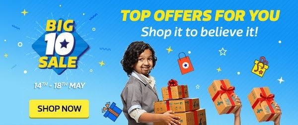 9657a906e BIG 10 SALE LIVE LOOT ON FLIPKART - Freebie Giveaway Contest - Win ...