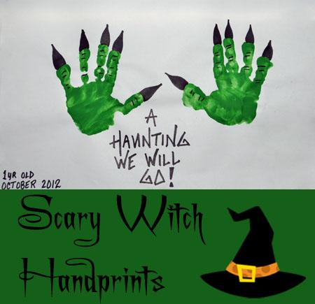 manos de bruja con las manos para Halloween