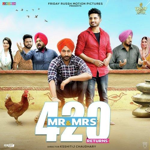 Mr & Mrs 420 Returns 2018  Punjabi DTHRip 500Mb x264
