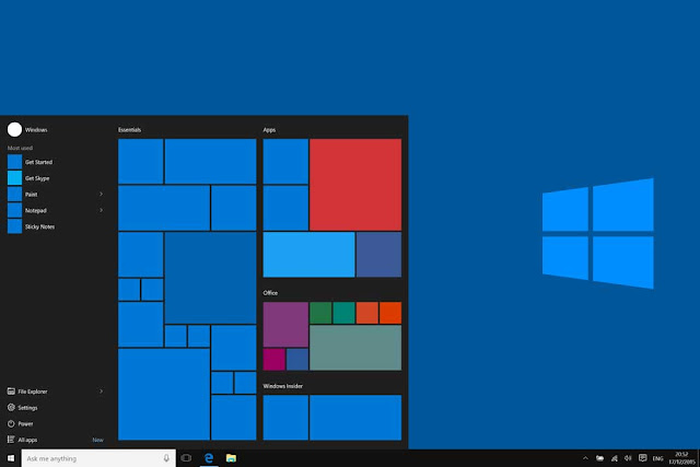 How to get help in Windows 10 Taskbar - start menu