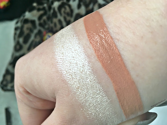 Ofra Glazed Donut Swatch, Maybelline Driver Swatch