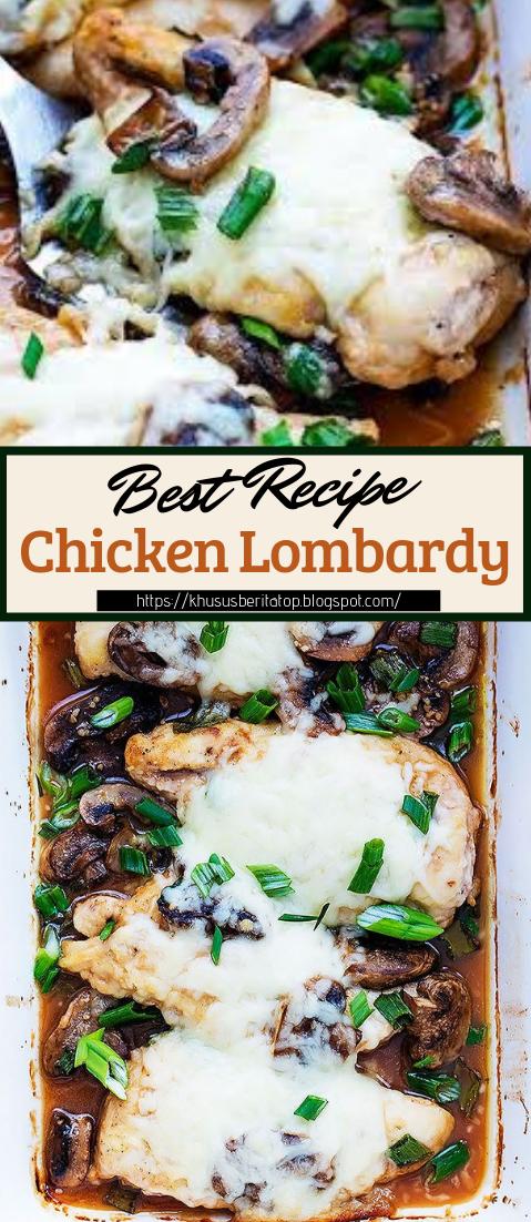 Chicken Lombardy #dinnerrecipe #food #amazingrecipe #easyrecipe