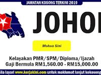 Jawatan Kosong di Negeri Johor Darul Takzim - Pelbagai Bidang