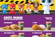 Burger King Promo Gratis mainan Feisty Pets Untuk Setiap Pembelian Paket King Jr