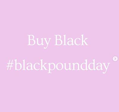 Buy Black Pound Day