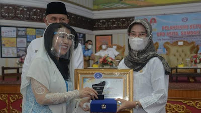 Sawahlunto Terima ASITA Award Sumbar 2021