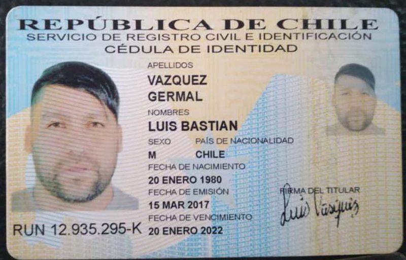 El look emo que se armó Luis Núñez para moverse con carnet falso en Bolivia
