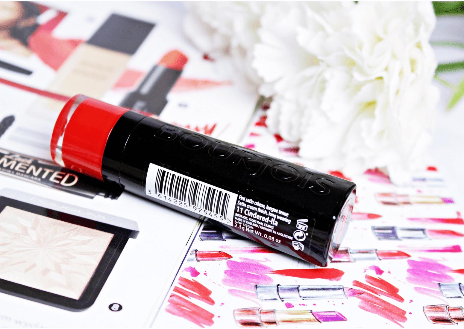 Pomadka Rouge Fabuleux Lipstick 11 Cindered-lla  Bourjois