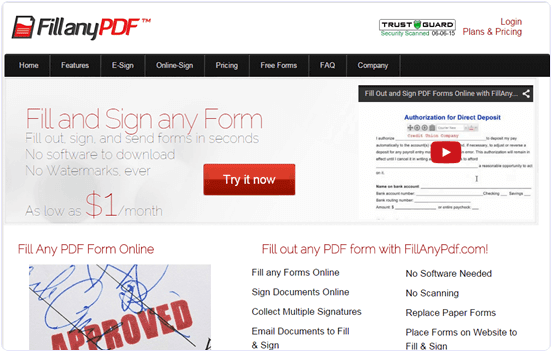 fillanypdf.com How To Edit Text In PDF File Online Free