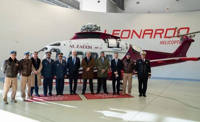 Qatar order Leonardo AW169 helicopter