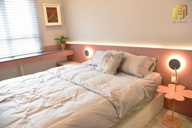 Phòng ngủ trang nhã và ấm áp dành cho hai công chúa nhỏ