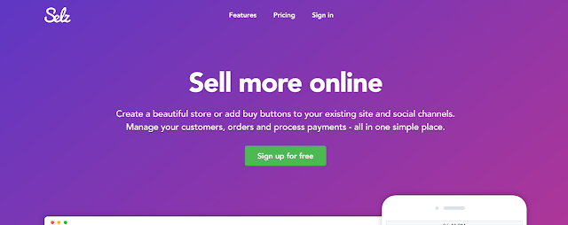 Selz: sell more online