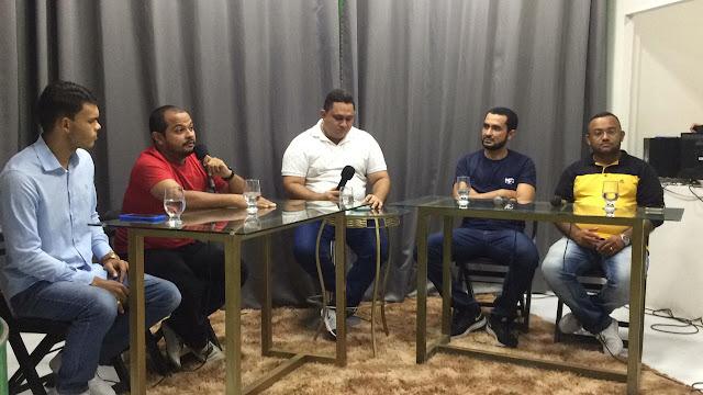 """Neto Caraúbas fala sobre projeto """"Nc2 Sports"""" em participação ao vivo na TV Jucurutu"""