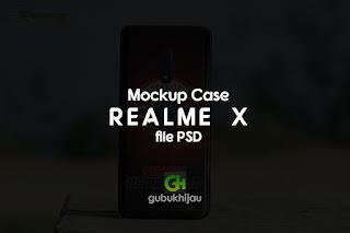 Mockup Case Realme X