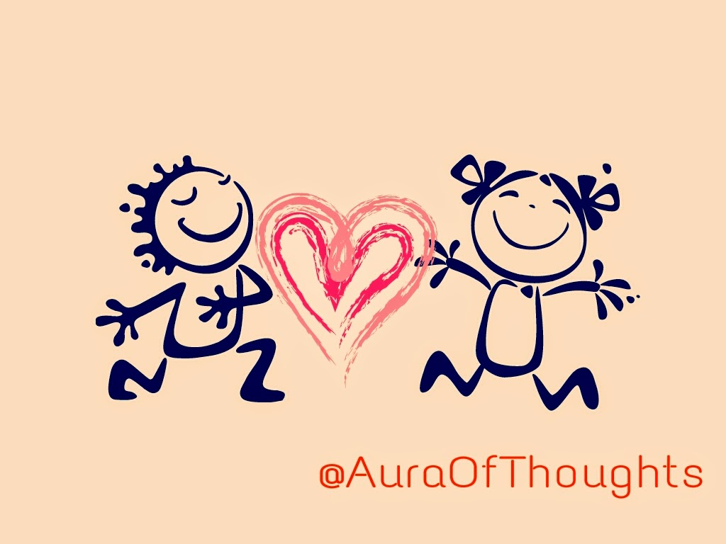Aura-of-thoughts - Ria n Vivek in Love