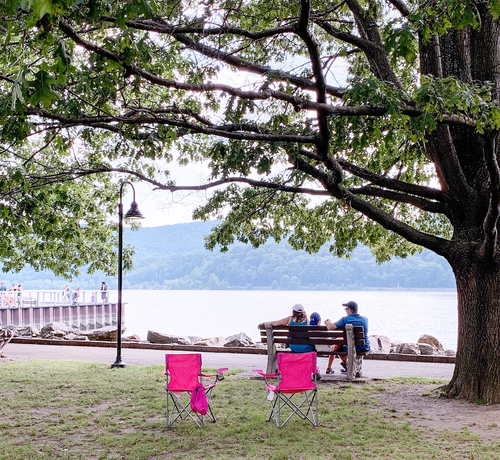 Dockside Park in Cold Spring, New York