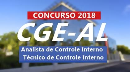 Concurso CGE-AL 2018