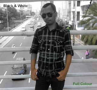 Tutorial Photoshop Cara Mengubah Foto berwarna menjadi hitam putih di photoshop