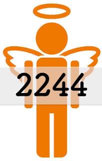 エンジェルナンバー 2244