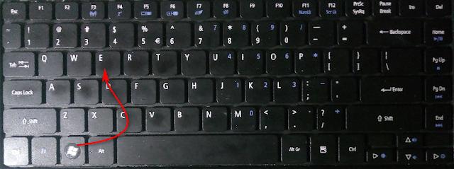 Windows+E