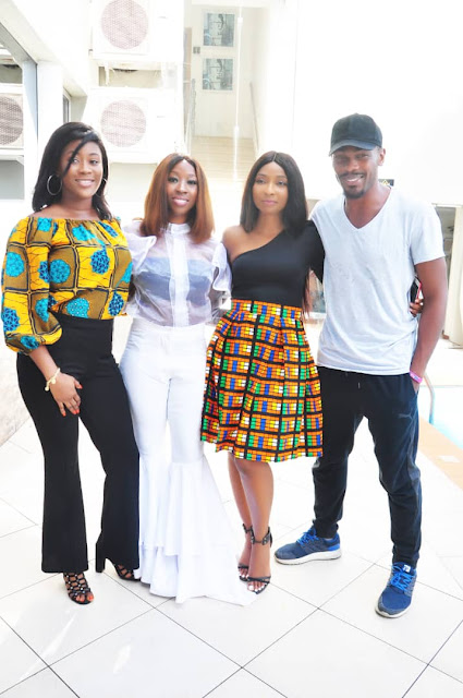 Nollywood actress Belinda Effah holds press conference for debut film Miracle