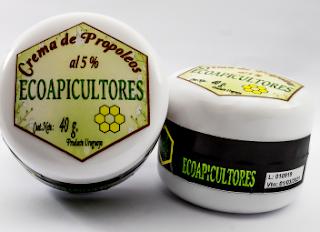 Crema de Propóleos ecoapicultores