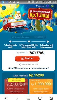 kode undangan aplikasi uc browser