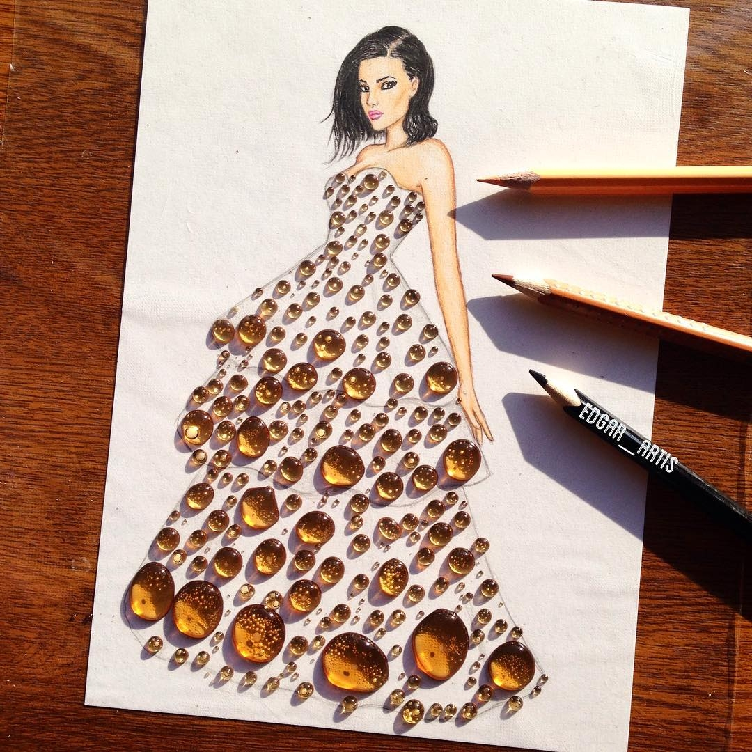 01-Pepsi-Edgar-Artis-Drink-Food-Art-Dresses-and-Gowns-Drawings-www-designstack-co