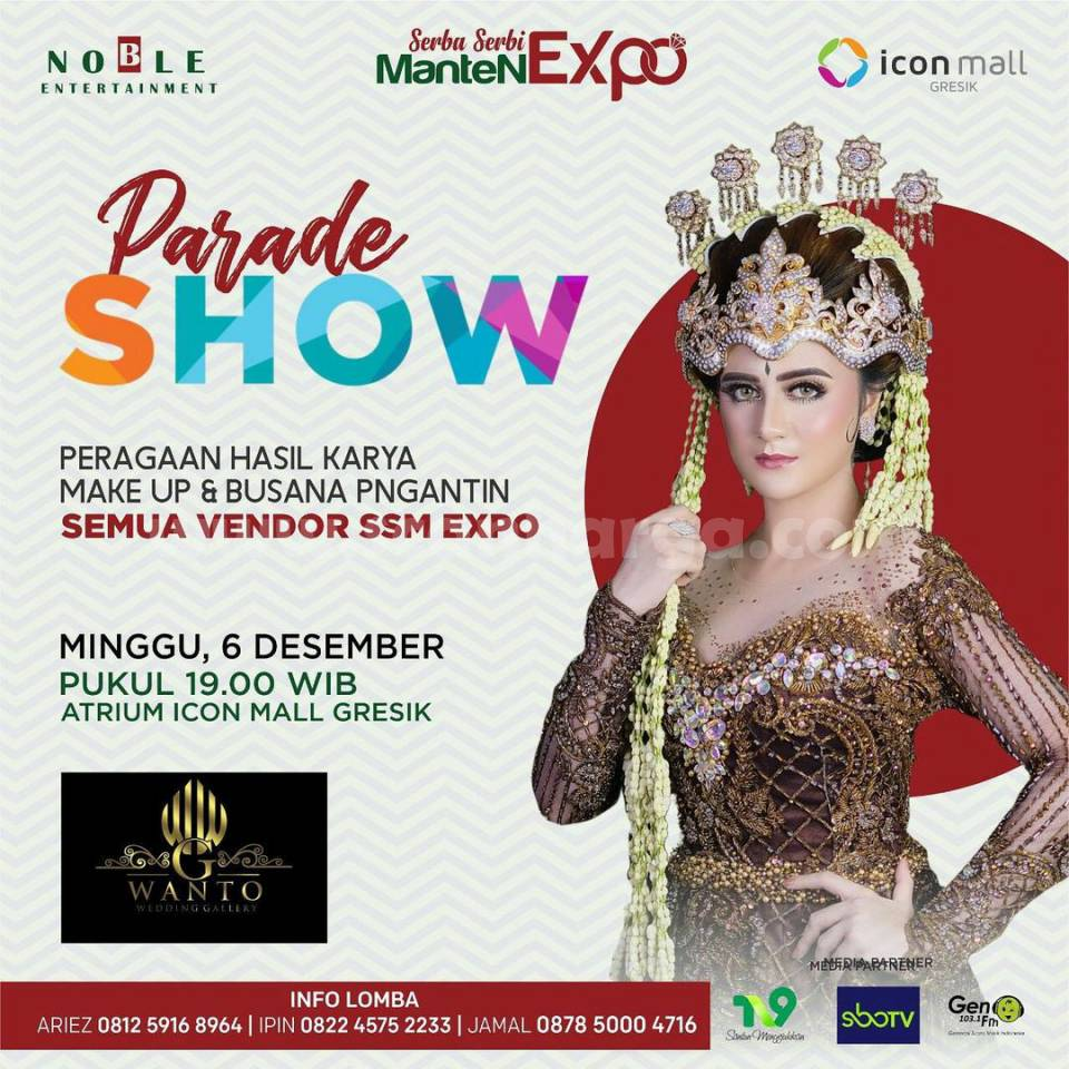 Wedding Tangguh Serba Serbi Manten Expo at Icon Mall Gresik 3 - 6 Desember 2020