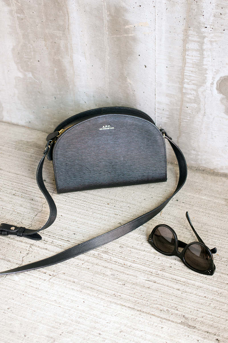 A.P.C. Paris Half Moon Bag