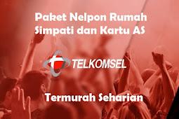 Paket Nelpon Rumah Telkomsel simPATI dan Kartu AS Termurah