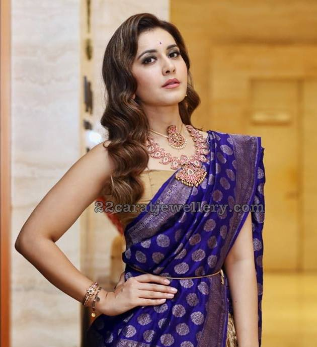 Raashi Khanna Mango Necklace
