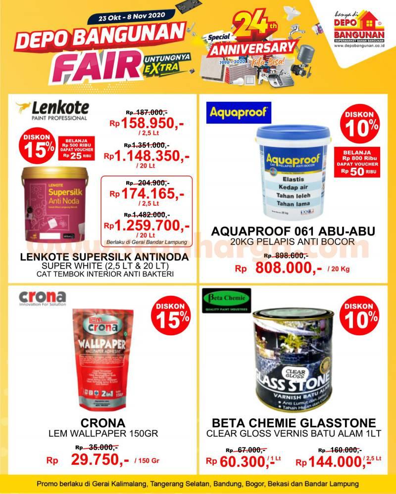 Katalog Promo DEPO BANGUNAN 2 - 8 November 2020